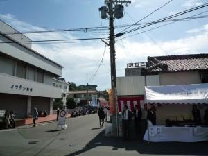 近鉄賢島駅から通りを写した一枚です。